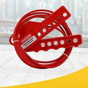Industrial Insulated Fish Type Adjustable Cable Lock Storage Cabinet Cable Lock