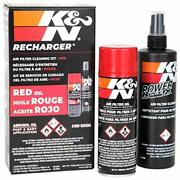 Kandn Engine Air Filter Cleaning Kit Aerosol Filter Cleaner And Oil Kit