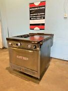South Bend H-duty Commercial Nat Gas 2 Burners Range With 16 Griddle And Oven