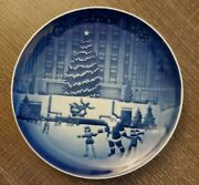 Bing And Grondahl Royal Copenhagen Christmas In America 1988 Collector Plate