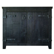 Native Trails Vnb36 Anvil Americana 36 Wooden Vanity Cabinet Only