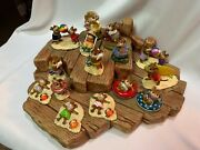 Great Clay Barge Beach Display For Wee Forest Folk Wff Not Included English Made