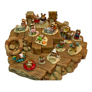Clay Barge Beach Display For Wee Forest Folk Wff Not Included English Made