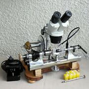 Precision Machine Co Usa Watchmaker's Ww 8 Mm Lathe Matching Numbers