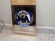 Vintage Pabst Na Non Alcoholic Beverages Advertising Mirror - New Old Stock
