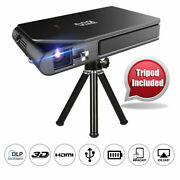 Wifi Pico Dlp 3d Projector 1080p Movie Airplay For Iphone Portable Trip Hdmi Us