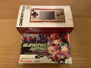 Game Boy Micro 20th Anniversary Model Elevator Action Old Nu