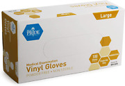 Vinyl Examination Gloves Large Latex Free Rubber Disposable Ultra-strong Clear