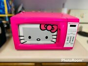 Collectible Extremely Rare Hot Pink Hello Kitty Microwave Mw-07009 0.7 Cubic Ft.