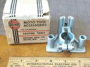 Vintage -- Dremel Moto Tool Router Shaping Base Jig Table In Box