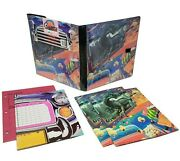 Nwt Nos Vintage 80s Mead Trapper Keeper Cruisers Binder And Inserts Drive In