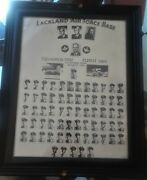 1951 Lackland Air Force Base Picture - All Names In Listing