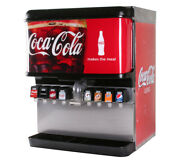 8-flavor Ice And Beverage Soda Fountain System With Lidremanufactured