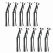 10x Dental Inner Water Spray Low Speed Contra Angle Fit High Speed Fg 1.6mm Burs