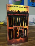 Dawn Of The Dead Vhs, 2004, Unrated Directors Cut Brand New Factory Sealed