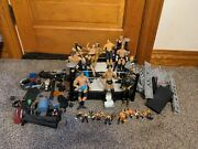 Mattel Wwe Wwf Wresting Arena Ring Lot With 15 Posable Action Figures Read 🔻