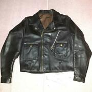 1950's Harley Cycle Champ Second Riders Jacket Motorcycle Black Size 38 Japan