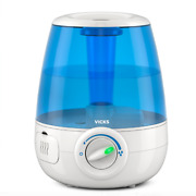 Filter-free Cool Mist Humidifier, White, Quick And Easy To Use For Medium Room