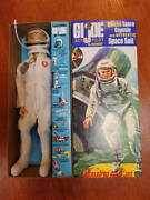 Gi Joe Talking Things At That Time Astronats Used Goods With Repro Box As Bonus