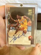 1998 Topps Basketball Kobe Bryant Lakers On Card Auto Autograph Sp 🔥🔥🔥