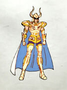 Things At That Time Saint Seiya Golden Capricorn Shura Cell Painting Video