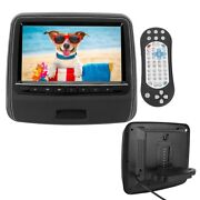 For 9 Inch Car Back Headrest Monitor Screen Dvd Video Hd Media Player