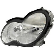Mb2502149 New Replacement Driver Side Hid Head Lamp Assembly