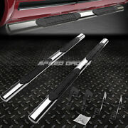 For 04-14 Ford F150 Ext/super Cab 4oval Chrome Side Step Nerf Bar Running Board