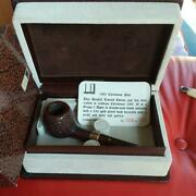 Dunhill Pipe 1989 Christmas Limited Model 344/350 W/special Box Used Rare Japan