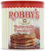 Golden Malted Robby's Buttermilk Pancake Mix, 33-ounce Cans Pack Of 3