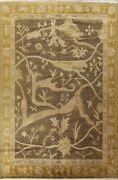 Vegetable Dye Nepalese Oriental Area Rug Palace Size Hand-knotted 12and039x16and039 Carpet