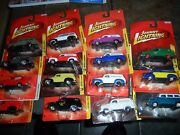 15 Lot Johnny Lightning 1950 Chevy Panel Delivery Truck And Suburban Police And Fire