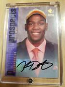 Signature 2007 -08 Ud Rookie Edition Kevin Durant Rc Autograph Cabin Kd Auto