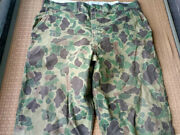 Vintage Duck Hunter Camouflage Pants Made By Western Field 42x32