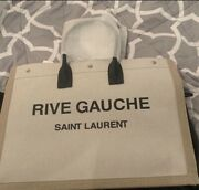 New Saint Laurent Rive Gauche Tote Authentic Sold Out Comes With Dust Bag