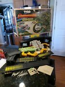 Tyco Championship Nite Glow Hp2 Curve Huggers Set 1979 Parts Incomplete Untested