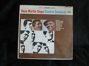 Dean Martin Sings Frank Sinatra Conducts Stereo Usa New Sealed Old Stock Lp