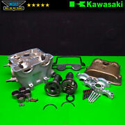 2007 Kawasaki Kx450f Complete Engine Cylinder Head Assembly Cams Valves 11008-00
