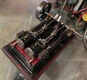 Magnificent Very Large Live Steam Engine Machine Late 19th Start 20th