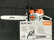 Stihl Ms 462 Professional Chainsaw With 20 Inch Bar And Chain