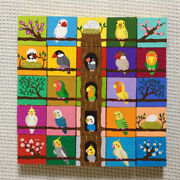 Playable Art Works Bird Block Hand-drawn One-point Object Intellectual Toys