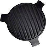 Bbq-plus 18 Cast Iron Plate Setter For Large Big Green Egg Kamado Grill.....