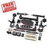 Zone 4.5 Front And Rear Suspension Lift Kit For Chevy 1500 Pickup 4wd 2007-2013