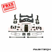 Fabtech 6 Basic Syst W/ Front Coilover And Rear Ss Shocks For Ford F150 4wd 09-13