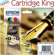 Epson Original T1636 Sandeacuteries Stylo And Crossword Cartouches Dand039encre Multipack Xl