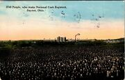 Dayton, Ohio - Workers Of National Cash Registers Factory - Old 1914 Postcard