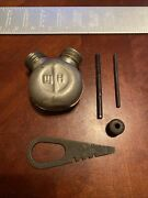 Original Mosin Nagant Cleaning Kit Parts- Oil Bottle Multi Tool, Cover Etc 60a8