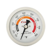 Grill Temperature Gauge For Big Green Egg 150-900°f Waterproof 3 1/4 Large Face