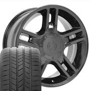 20 Inch Black 3410 Rims And Goodyear Tires Set Fit Ford F150 20x9 Harley Style
