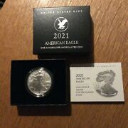 2021 American Eagle One Ounce Uncirculated Type 2  21egn